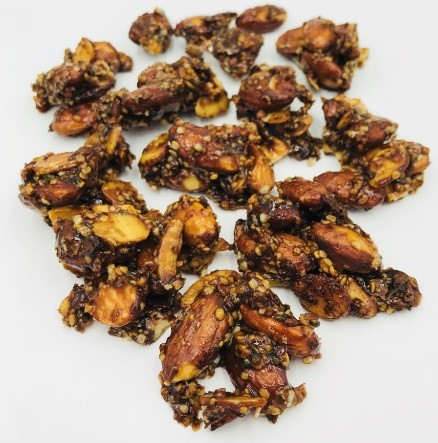 Chai Spiced Almond Clusters