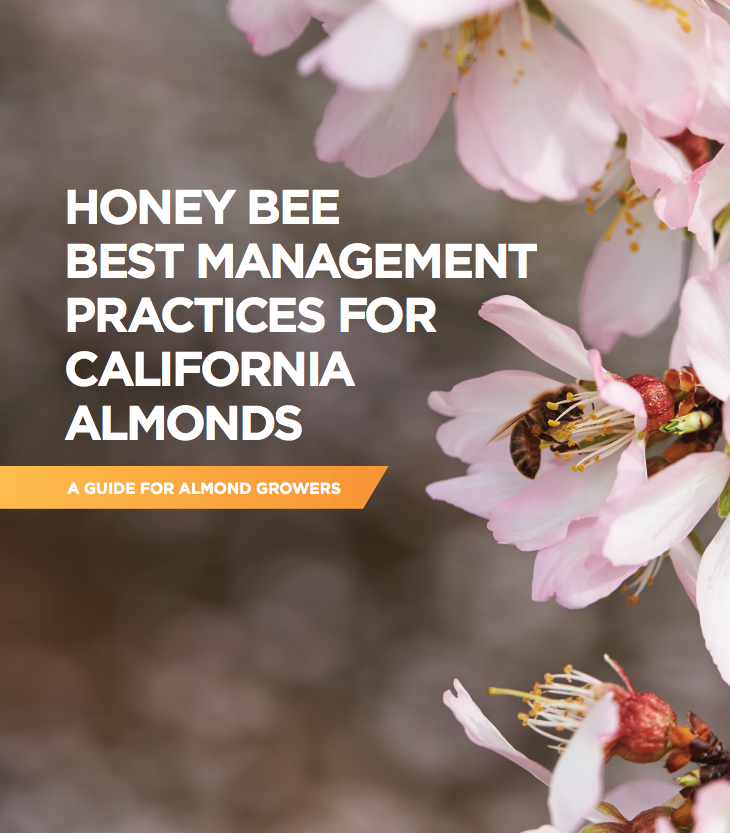 Honey Bee Best Management Practices for California Almonds cover page