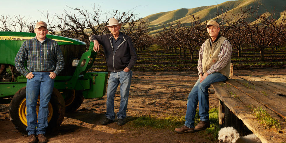 Esquire Magazine Interviews Almond Farmers